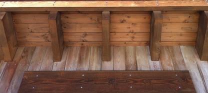 Wooden furnishings